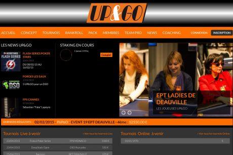 Up & Go : Karine Poyaux part avec la caisse
