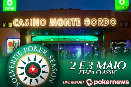 Hoje em Vilamoura, Satélite Etapa 5 Solverde Poker Season