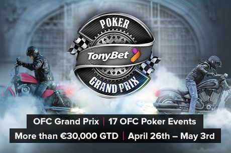 Tonybet Poker's OFC Grand Prix Begins on Sunday with Pineapple Event