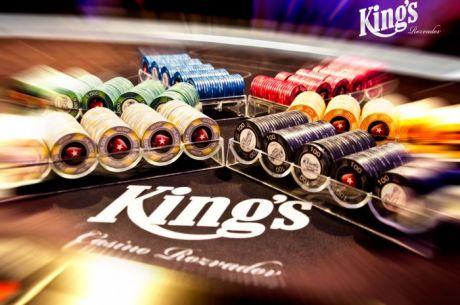 ÉLŐ VIDEÓ: €50/100-as celebrity cash game a King's Casino-ból