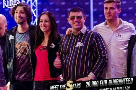 [ZÁZNAM] Nedělní Celebrity Cash Kings 1/4, €50/€100