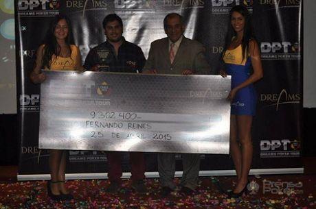 Segunda Fecha DPT 2015: Fernando Reines campeón.