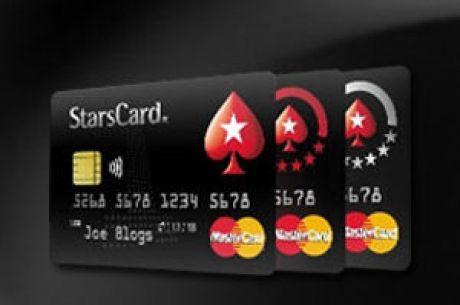PokerStars lanseaza propriul card de debit cu care depunerile si retragerile vor dura o clipa