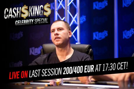 [ZÁZNAM] Úterní Celebrity Cash Kings s blindy €200/€400 od 17:30, stream uvnitř článku