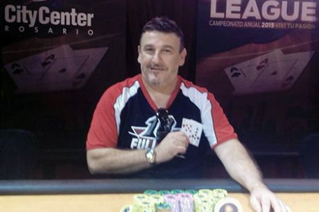 Sergio Di Pego, campeón de la segunda fecha de la City Center Poker League