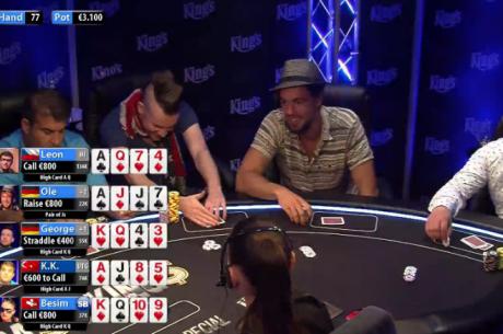 Celebrity Cash Kings Mais de 5 Horas de Acção €100/€100 & €200/€400 (Parte 2)