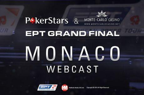 LIVE - EPT Monaco: 10.600€ Main Event - Finalni Sto