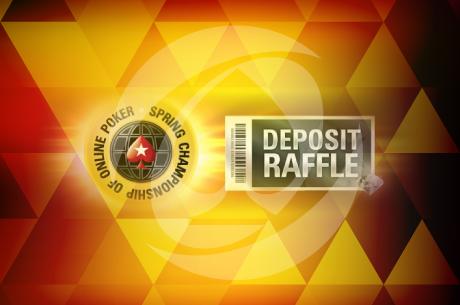 Участвай в майския Deposit Raffle на PokerStars с $400,000 в SCOOP...