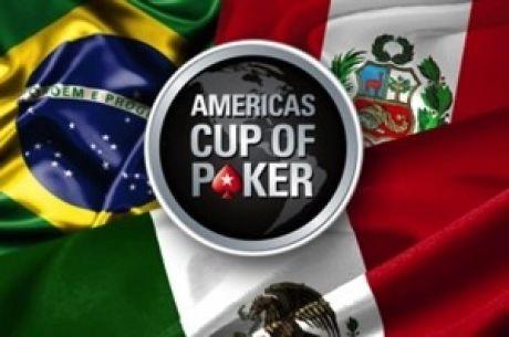 Hoy iniciarán a sumar para su país en el Americas Cup of Poker