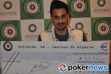 Tiago Branco Vence Etapa #5 Solverde Poker Season
