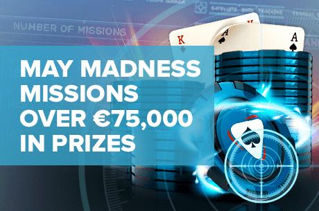 Win a Share of €75,000 in the May Madness Missions at NetBet Poker!