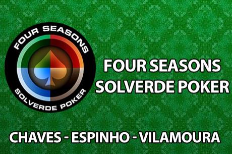 Torneios Four Seasons em Espinho e Vilamoura; Satélite ECT em Chaves