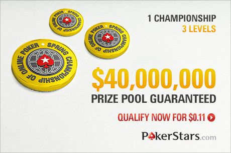 The PokerStars SCOOP Returns May 10 with $40 Million in Guaranteed Prizes