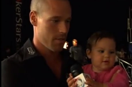 Throwback Thursday:  Patrik Antonius & Baby Mila