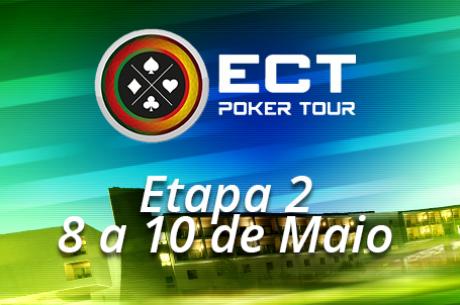 Etapa 2 ECT Poker Tour de 8 a 10 de Maio no Casino de Chaves
