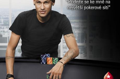 Brazilská fotbalová superstar Neymar Jr se stal novým ambasadorem značky PokerStars
