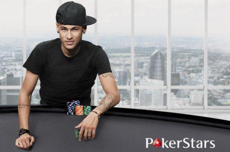 Futbolininkas Neymaras - naujasis PokerStars komandos narys