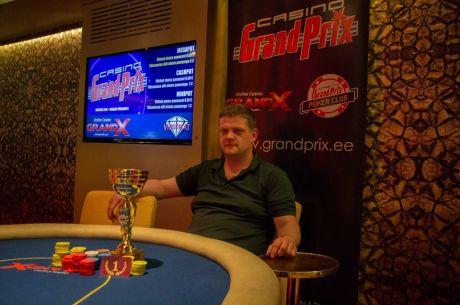 PokerNews Live Pärnu finaalturniiri võitjaks krooniti Margus Suurväli