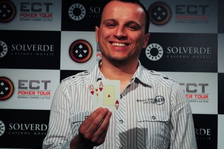 Roberto Machado é o Vencedor da Etapa #2 do ECT Poker Tour (€4,061)