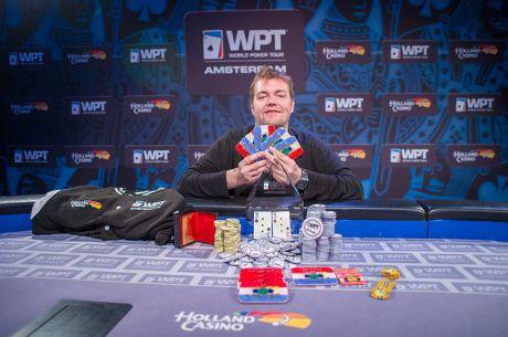 Jason Wheeler vyhrál High Roller WPT Amsterdam za €125.000