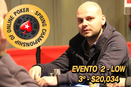 SCOOP 2015: Diogo Cardoso 3º no Evento #2 Low ($20k) & Mais