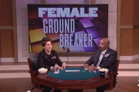 Female Ground Breaker: Vanessa Selbst Appears on Steve Harvey Show