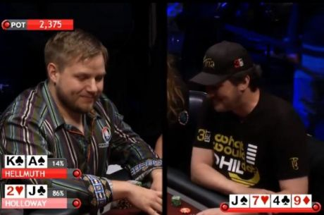Hold'em with Holloway, Vol. 28: Calling Hellmuth with Jack-Deuce Offsuit