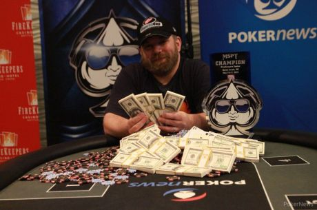 Mark Rubenstein Wins Record-Breaking MSPT FireKeepers Casino for $142,637