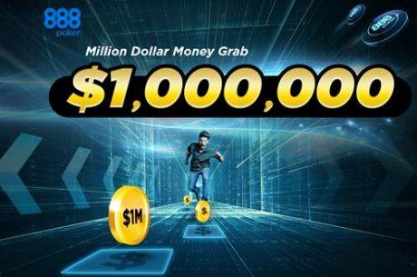 Събери 10 златни чипа и може да спечелиш $1,000,000 в 888 Poker