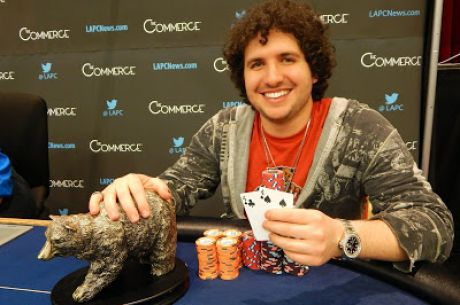 Eddy Sabat Wins the 2015 California State Poker Championship Main Event for $129,240