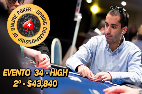 "SCOOP 2015: João ""Naza114"" Vieira 2º no Evento #34 High ($43,840)"