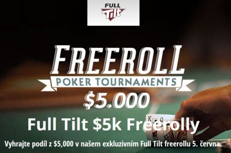 Kvalifikujte se v květnu do $5.000 freerollu na Full Tiltu