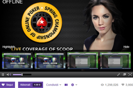 Global Poker Index, lo Studio Televisivo è su Twitch