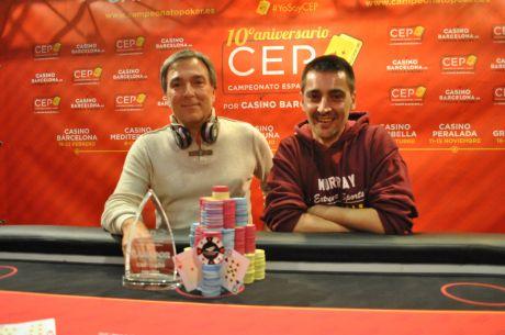 Un portugués roba el protagonismo a los jugadores españoles en el CEP de Castellón