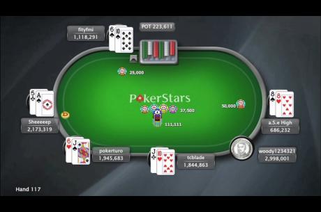 Nézd meg a $2.100-os SCOOP Sunday Million döntő asztalának összefoglalóját!