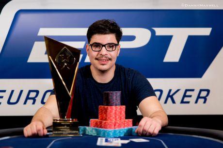 Įspūdingi M. Kanito metai: triumfavo ir 10,300 dolerių įpirkos SCOOP pagrindiniame turnyre