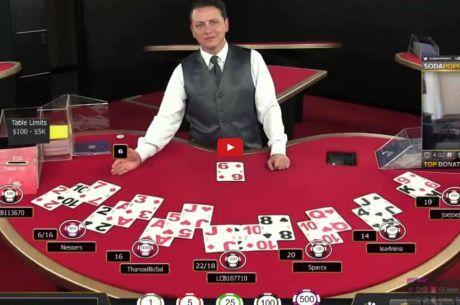 Hráč na Twitchi prohrál $5.000 v jedné hře na Blackjacku, podívejte se na jeho reakci