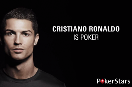 Geriausias planetos futbolininkas Cristiano Ronaldo prisijungė prie PokerStars! (VIDEO)
