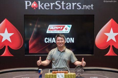 El español Alberto Gómez 10.º en el PokerStars.net APPT 2015 Macau $50K Freezeout, Sheng Sun...