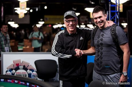 Actor James Woods na Mesa Final do Evento #4 Após Bater Doug Polk