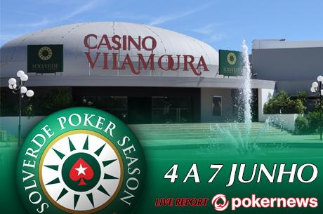 Etapa 6 Solverde Poker Season de 4 a 7 de Junho em Vilamoura