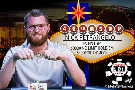 WSOP 2015: Nick Petrangelo Vence Evento #4 $3,000 NLH Shootout  ($201,812)