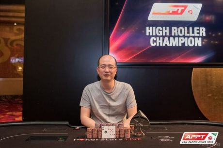 Liang Yu Wins 2015 PokerStars.net APPT9 Macau High Roller Event for HK$2,492,500
