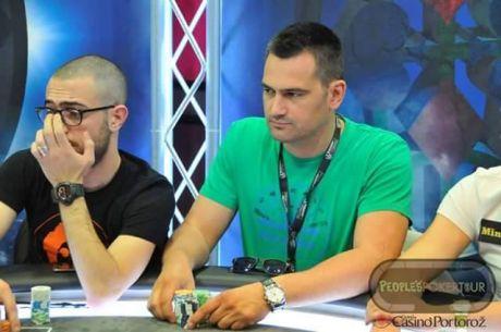 Đorđe Jovanović za Finalnim Stolom PPT Main Eventa 990€ u Portorožu
