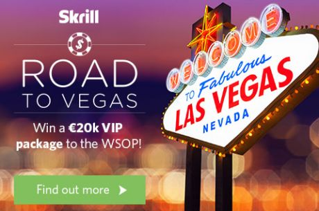 Win a WSOP Main Event VIP Package for FREE at Skrill!