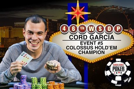2015 WSOP Day 8: Cord Garcia Wins Largest Live Poker Tournament in History