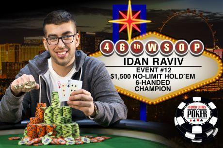 WSOP 2015  Dia 10: Idan Raviv consigue el oro; mesa final del Shootout; se busca millonario