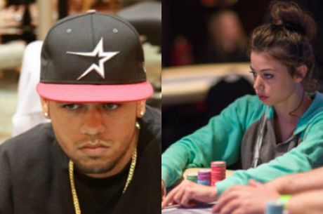 Family Man Jose Montes & Aoki Roadie Samantha Abernathy Represent RunGood at 2015 WSOP