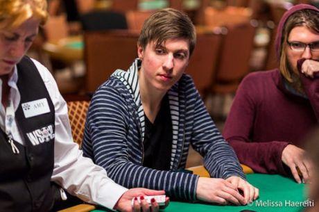 WSOP banko limito Holdem čempionate Kristijonas Andrulis užėmė 7 vietą
