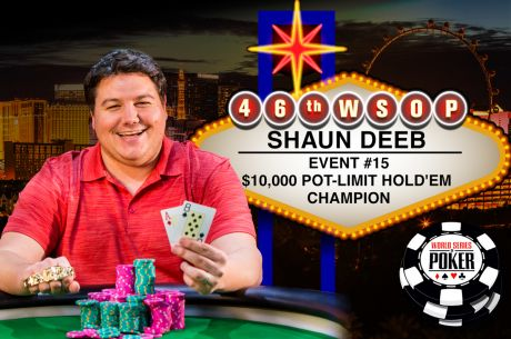 A More Mature Shaun Deeb Wins $10K Pot-Limit Hold'em for First WSOP Bracelet